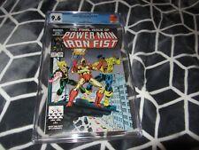 Power Man & Iron Fist 125 CGC 9.6, Low Print Run, Final Issue -Marvel 1986 (J/D)