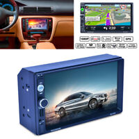 2Din TFT Touchscreen Auto GPS Navigation MP5 Bluetooth Radio Player Europa Karte