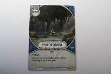 Star Wars Destiny Spirit of Rebellion My Ally is the Force event Card #105 mint