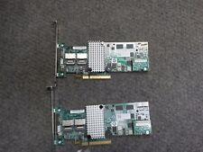 Lot of 2 - 2KM0H 02KM0H DELL MEGARAID 9260-8i 6GB SAS SATA RAID CONTROLLER -