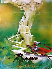 ROGER DEAN Exhibition Poster, New York Cultural Center, 1975: Castle Green