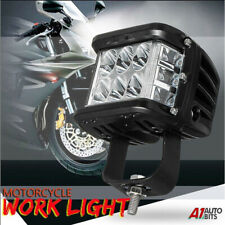 45W Three Side Shooter Led Head Light Head Lamp For Harley Davidson Motorcycle