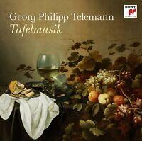 GEORG PHILIPP TELEMANN: TAFELMUSIK   CD NEW+