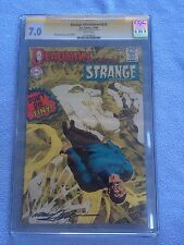 Strange Adventures #213 (Jul-Aug 1968 DC) CGC SS Graded 7.0 SIGNED BY NEAL ADAMS