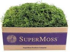 - New - SuperMoss (26927) Spanish Moss Preserved, Grass, 3lbs Free Shipping!