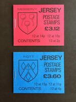 Jersey(Channel Islands) Stamp Booklets(2) - 1987 TRINITY PARISH CREST SG SB37/38