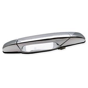 Exterior Door Handle For 2007-2013 Chevrolet Silverado 1500 Tahoe Rear LH Chrome