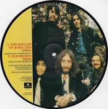 The Beatles ‎ Ballad Of John And Yoko 7´´ Single, Picture Disc Sehr gut