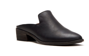 Frye Leather Mules Ray Mules Black