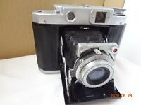 Mamiya 6 6x6 film folding camera w/Zuiko 75/3.5 lens from Japan Exc+++ cond 2481