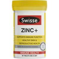 SWISSE Ultiboost Zinc+ 60 Tablets :: Immunity Skin Reproductive Support ::