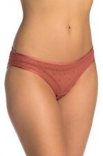 Free People Femmes Celeste Bikini OB874155 Culotte Coral Orange Taille XS