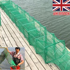 3.2M CRAB TRAP NET CRAB PRAWN SHRIMP CRAYFISH LOBSTER EEL BAIT FISHING POT