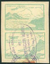 EDW1949SELL: Colombia 1920 Sc# C11 Var Par W/ Diferentes Diseños Atado A Pieza