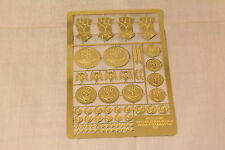 Warhammer Space Marine Imperial / Crimson Fists Etched Brass