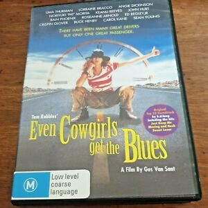 Even Cowgirls Get the Blues DVD R4 Like New! – FREE POST