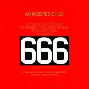 Aphrodite's Child-666 CD NEW