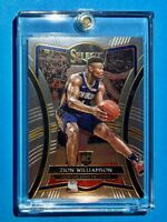 Zion Williamson PANINI SELECT PREMIER LEVEL ROOKIE 2019-20 RC WELL CENTERED Mint