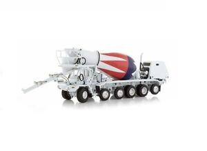 "Oshkosh S-Series Cement Mixer - ""SHEBOYGAN"" - 1/50 - TWH #075-01068"