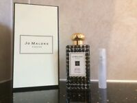 LIMITED EDITION JO MALONE ORANGE BITTERS COLOGNE IN NEW PLASTIC 5ML ATOMISER