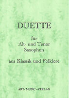 50 DUETTE ALT- UND-TENOR-SAXOPHON KLASSIK & FOLKLORE ( NOTEN )
