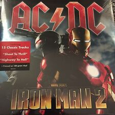 AC/DC 'Marvel's Iron Man 2' Soundtrack - 2 x 180gram Vinyl LP BRAND NEW & SEALED