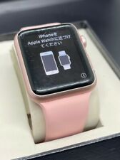 Apple Watch 42mm Aluminum Case Pink Band 7000 Series 0 1st Generation A1554