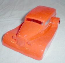 Orange 1933 Ford Sedan Slot Car Body 1/32nd Parma Flex NOS