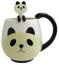 Decole Panda Porcelain Mug with Spoon Set S-4067