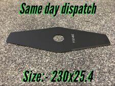 Strimmer / Brushcutter Blade For Brambles Standard Metal Size Of (230x25.4)