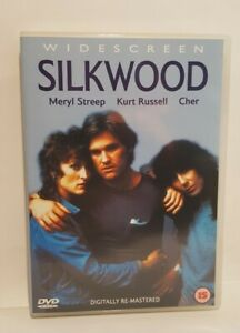 Silkwood (1983) DVD Meryl Streep  Kurt Russell Cher, UK R2 DVD