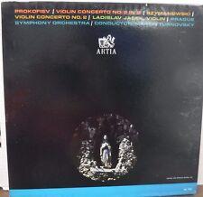Prokofiev Violiin Concerto No 2 in G Symanowski Violin Concerto No 2   012217LLE