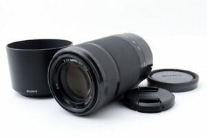 SONY SEL55210 55-210mm f/4.5-6.3 Aspherical IS OSS Black [Exc w/Hood [714]