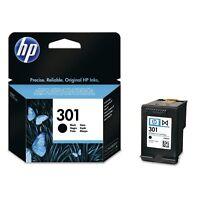 Original HP 301, CH561EE Druckkopf, Tintenpatrone Schwarz / Black, 3 ml