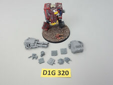 Warhammer 40k Ork, Orks - Deff Dread Dreadnought, Dreadnought conversion