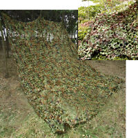 Woodland Camouflage Net Hunting Camping Netting Shooting Hide Army Cover 4x 1.5m