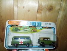 Matchbox TP12 VW Van  & Jeep in OVP