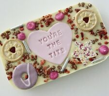 Personalised Chocolate Slab Loaded Happy Birthday Love Gift Message Thank You