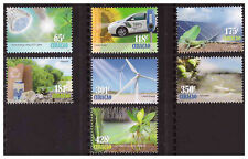 Curacao 2013 Go Green LED light Windmill Solar energy Recycle MNH