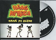 KING AFRICA - Mama yo quiero CD SINGLE 2TR Eurodance 2000 (CNR) Holland