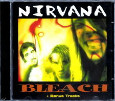 NIRVANA - Bleach + 6 Bonus Tracks RARE CD Sealed