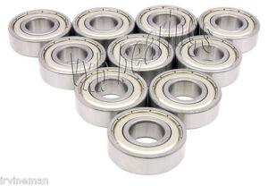 Lot 10 Ball Bearing 6302Z Wholesale 6302 Z ZZ 2Z 6302ZZ Metal Shielded Bearings