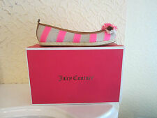 Juicy Couture Gianna Striped Canvas Ballet Flats