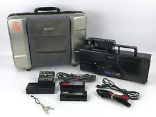 Sony CCD-V8AF Video 8 Recorder Camera w/ Original Case Bundle