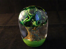 Tree of Life Paperweight Glass Eye Studio Environmental Series 605 New Made USA