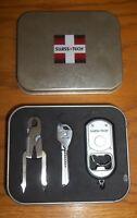 Swiss Tech Utility Gift Pack Utili-key Plier Combo Travel Size Tool Kit