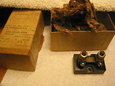 Meter Shunt 50mv 50Amp from Convair GD Fort Worth 1955 B-36 era NOS