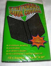Stretchable Book Covers 4 Way Stretchable Fabric Fits Up To 8X10 Inches Blue