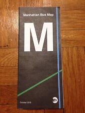 New York City Metro Transit Manhattan Cartography NYC M MTA Bus Map New Version