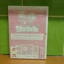 Crafters Companion CD Rom - S.W.A.L.K. Papercrafting Collection - Brand New